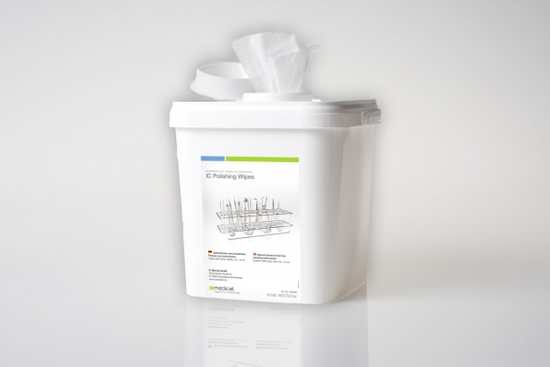 IC Polishing Wipes - 600 Tücher