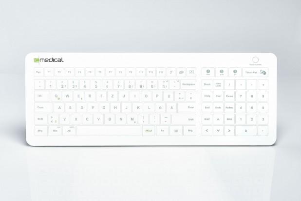 IC Keys - Hygienetastatur Deutsch HT400